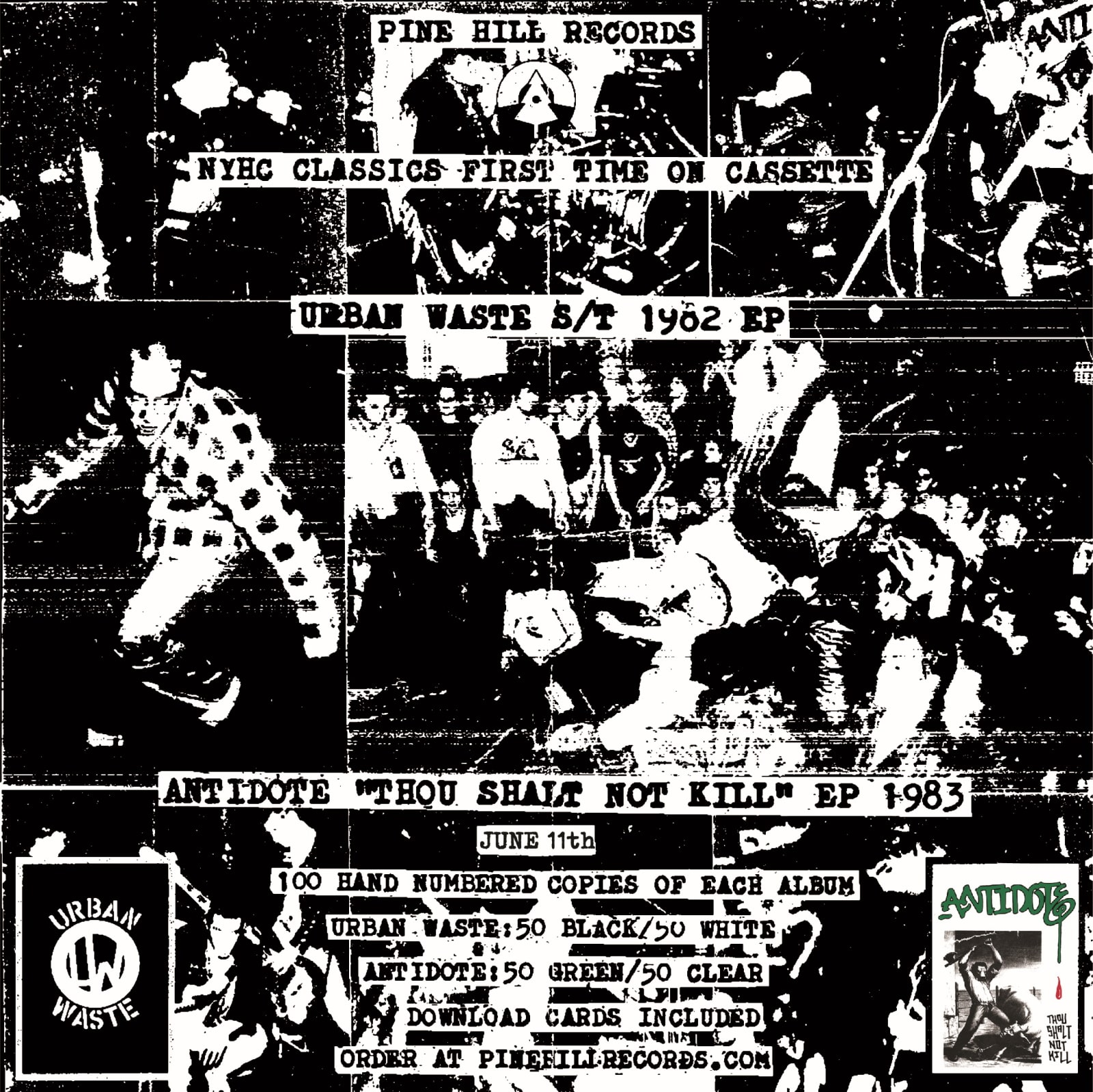 Pine Hill Records NYHC