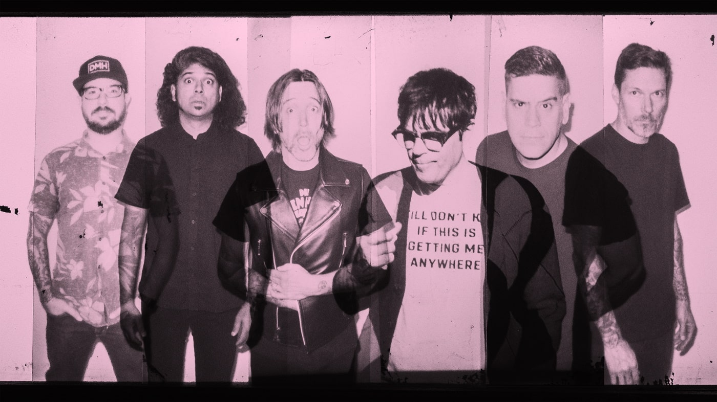 Billy Talent and Rivers Cuomo by DUSTIN RABIN